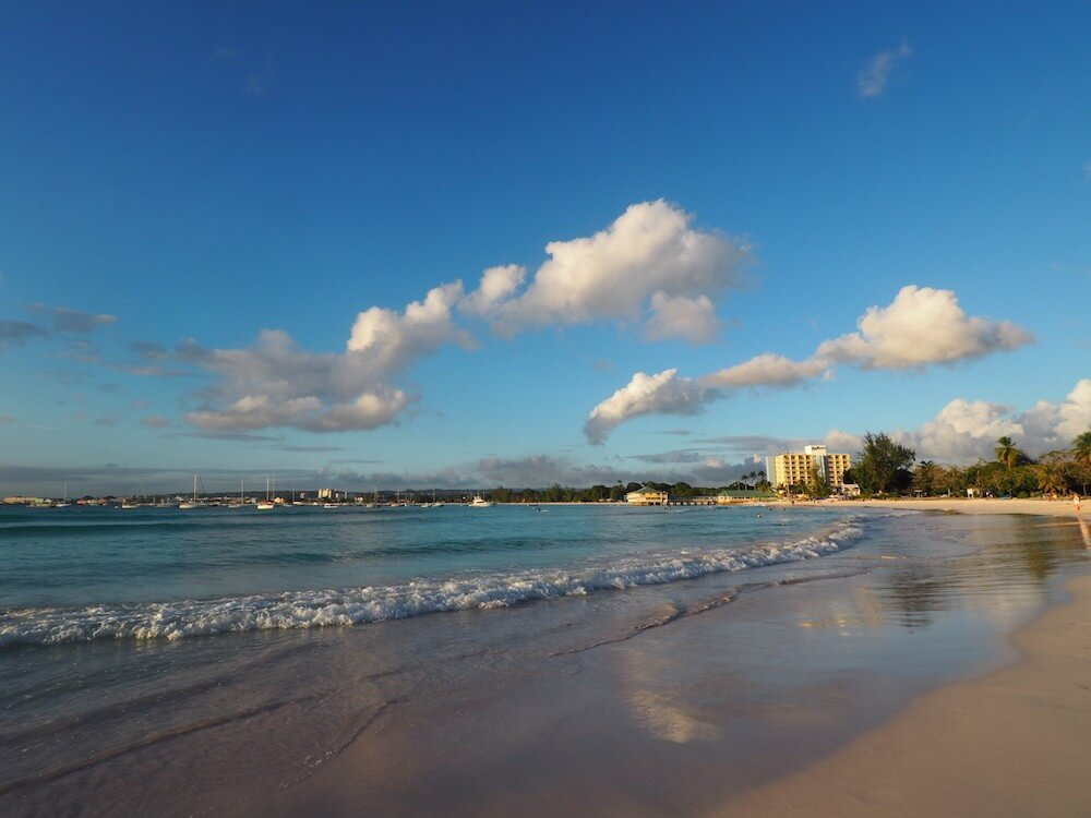 Beach life in Barbados