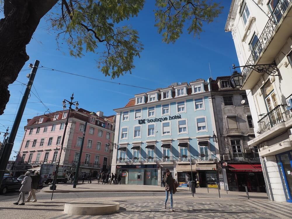 Nice hotel in Lisbon