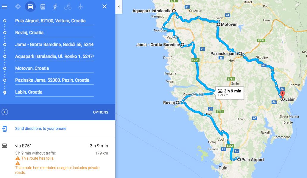 Road Trip Istria