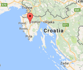 Cool things to do in Istria Map