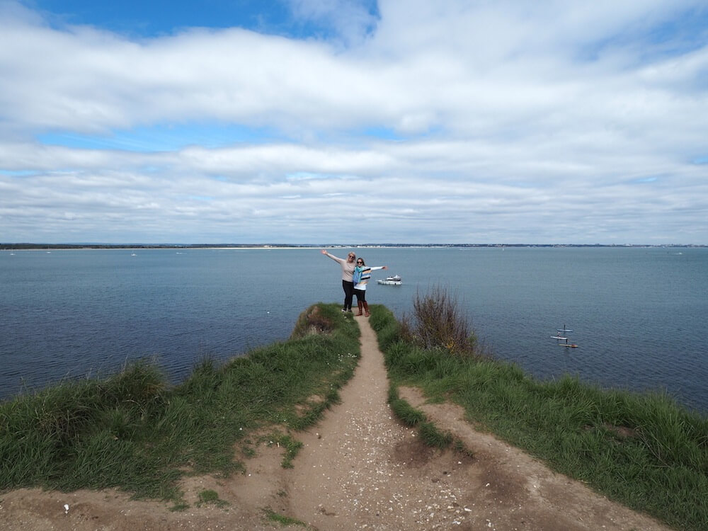 Exploring in Studland