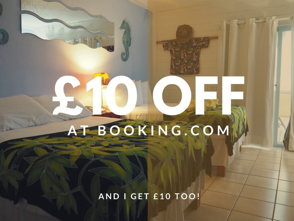 Money off booking.com