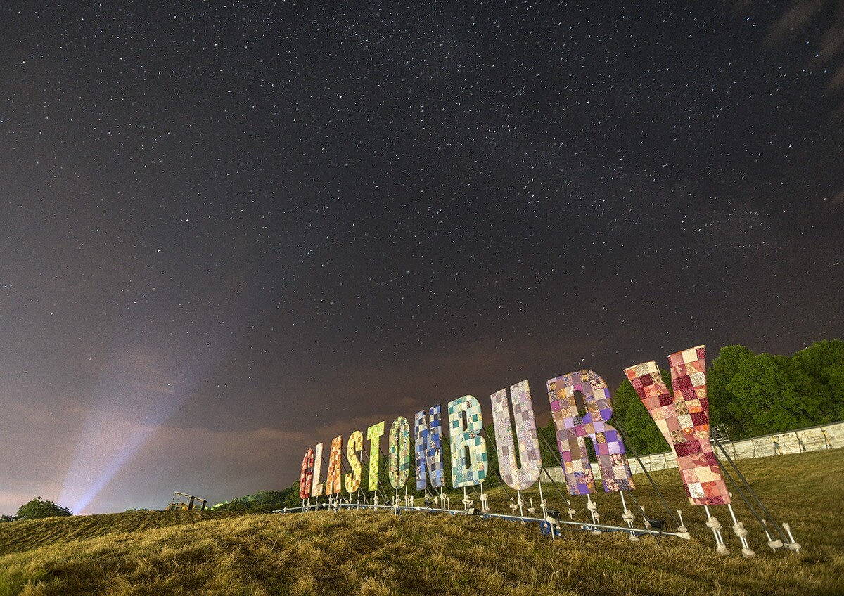 Questions about Glastonbury festival