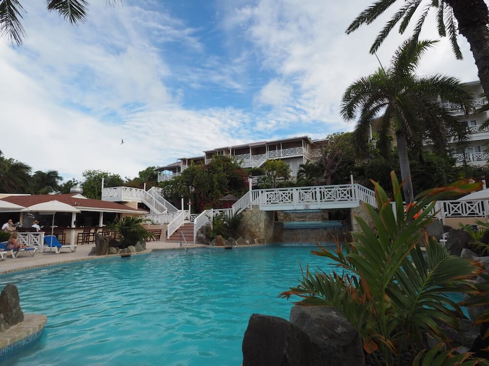Pool at Pineapple Club Resort