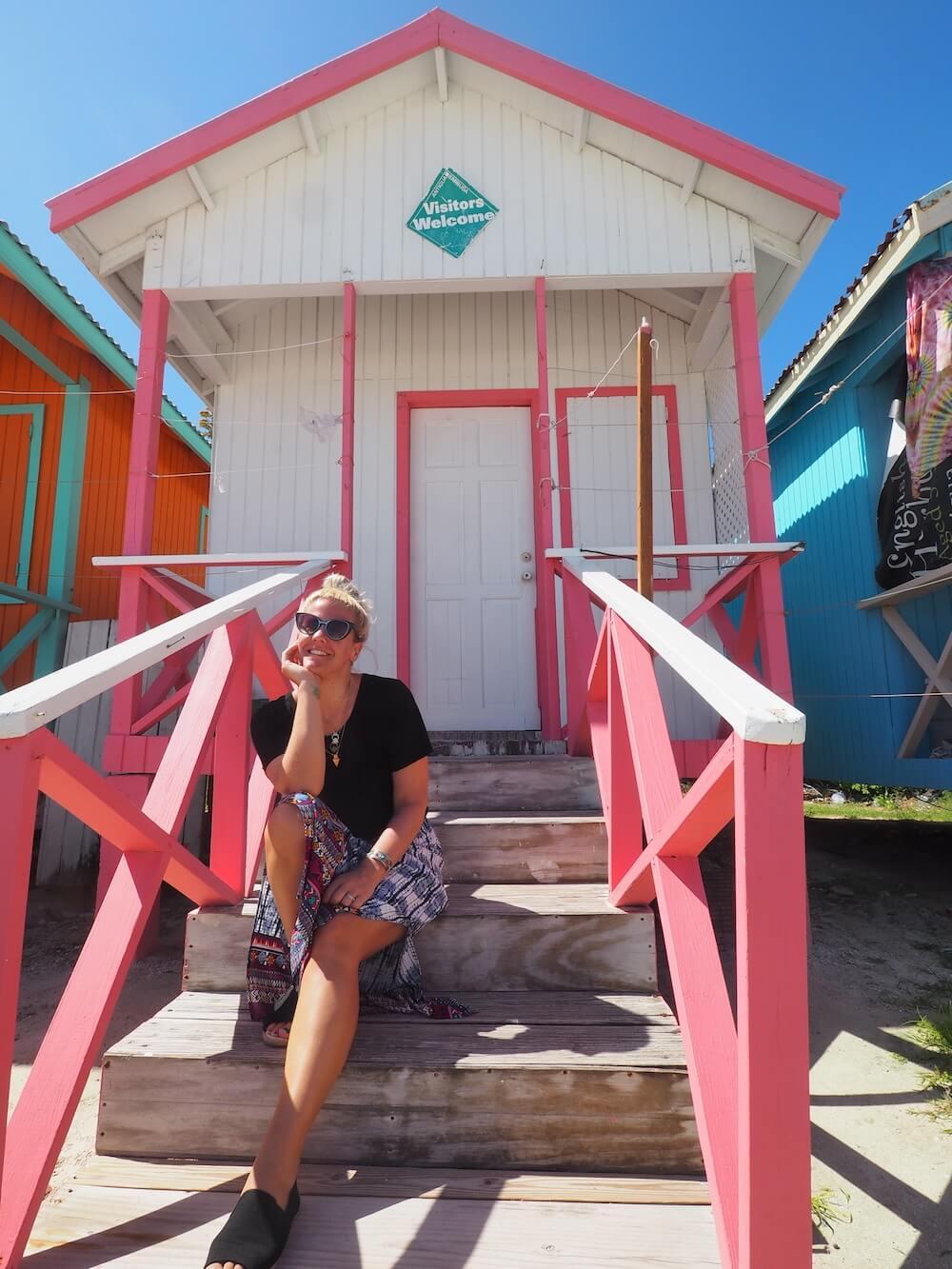 Model at Grand Pineapple Beach Club