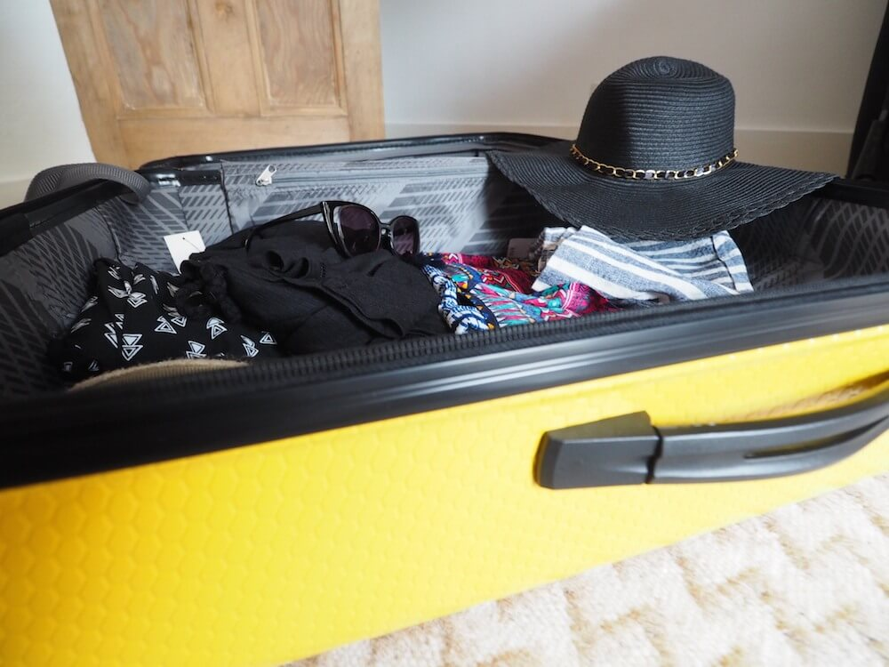 Packing list for the Carribbean