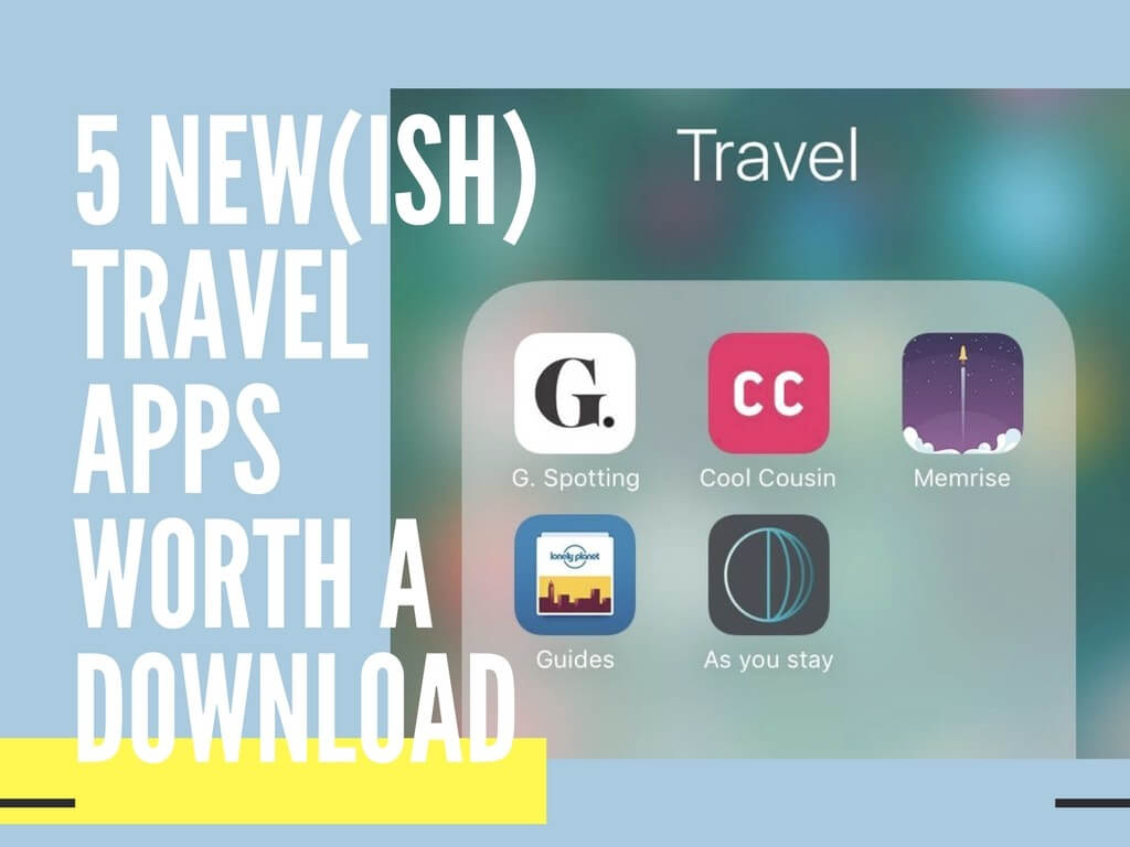 Travel apps to download
