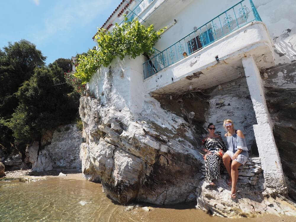Top spot in Skiathos