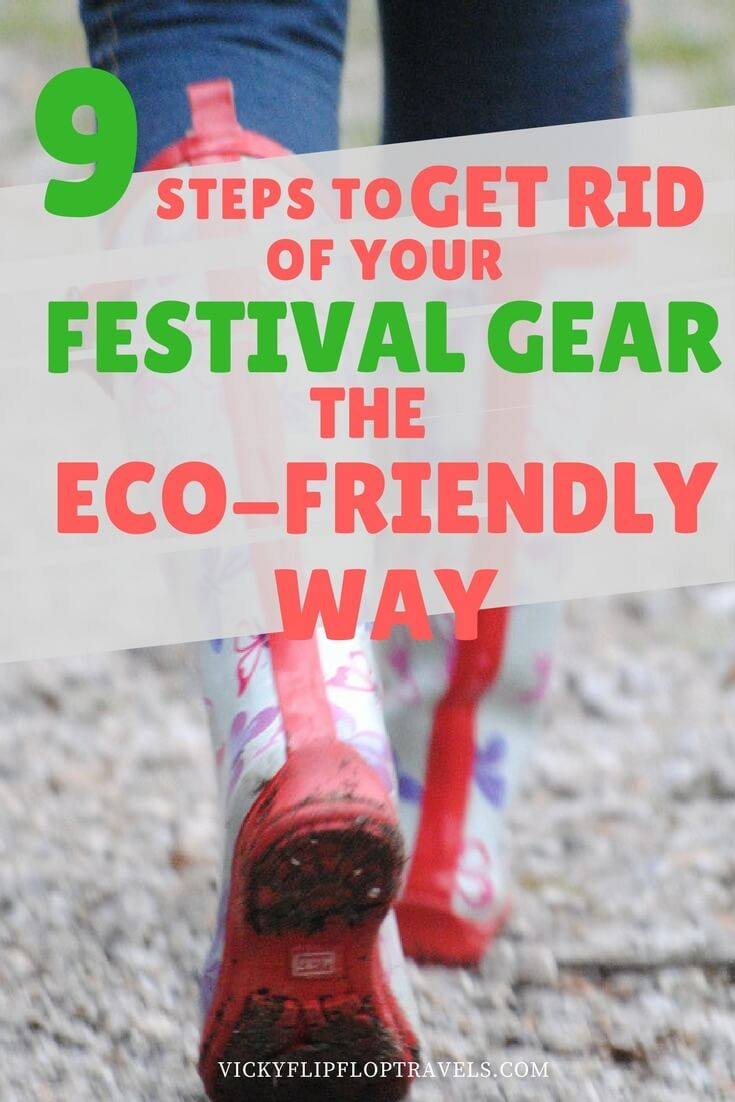 How to get rid of your festival gear