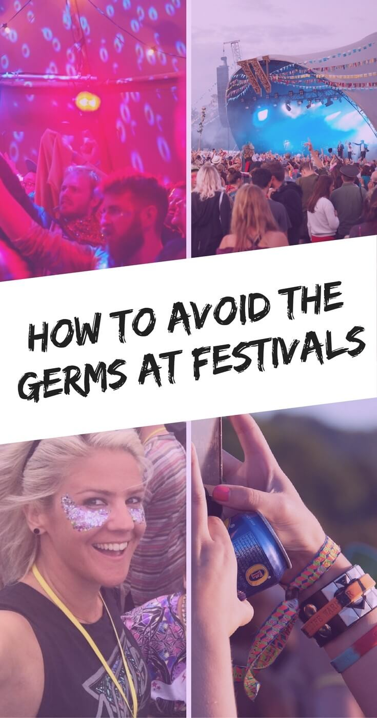 Germs at festivals