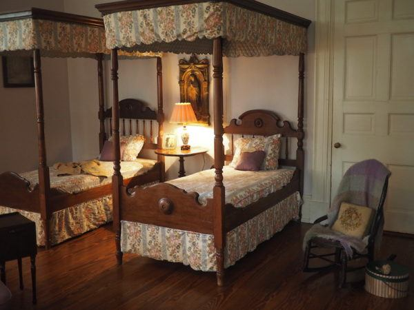 Staying at the Oak Alley Plantation