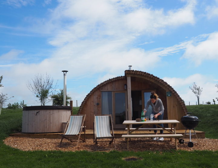 16+ Best Places for Glamping on the Isle of Wight