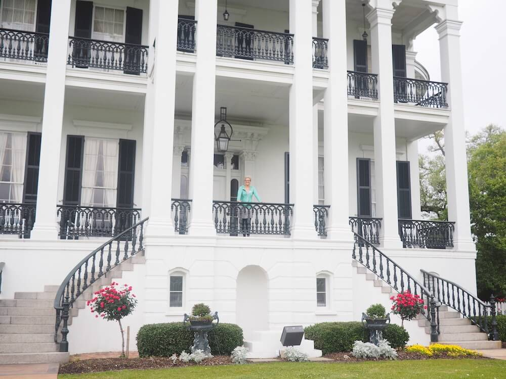 Me at the Nottoway Plantation