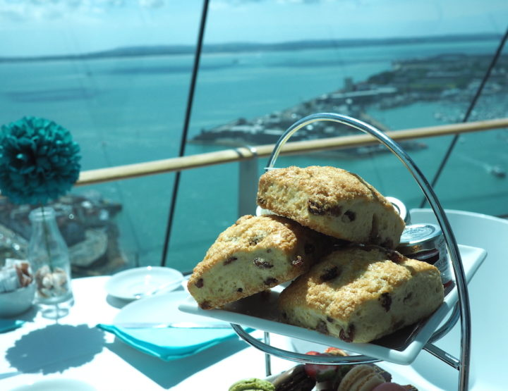 The Highest High Tea I've Had (Up the Spinnaker Tower)