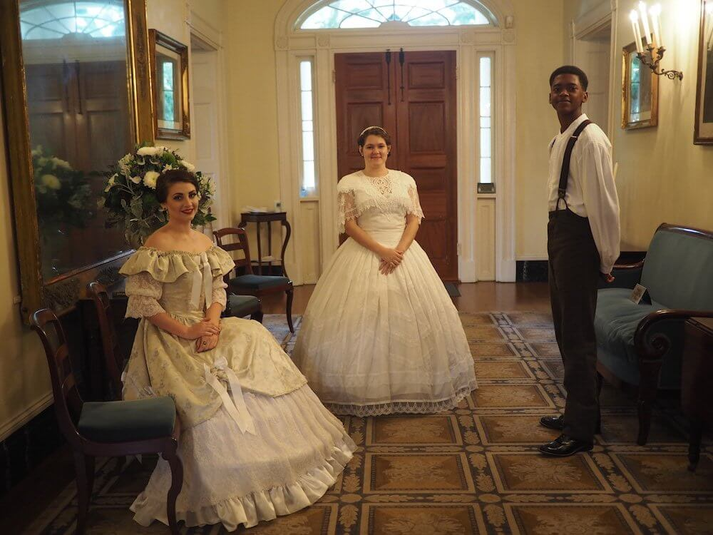 Inside Oak Alley Plantation