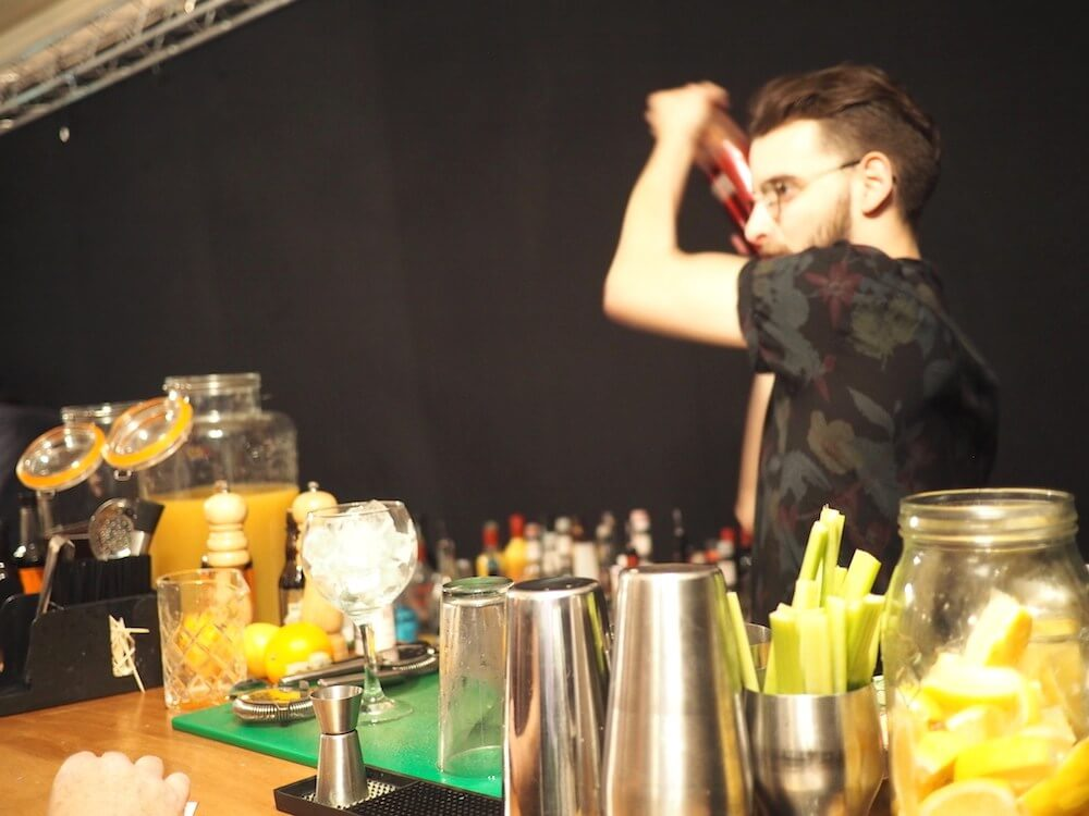 Gin cocktails at Portsmouth gin festival