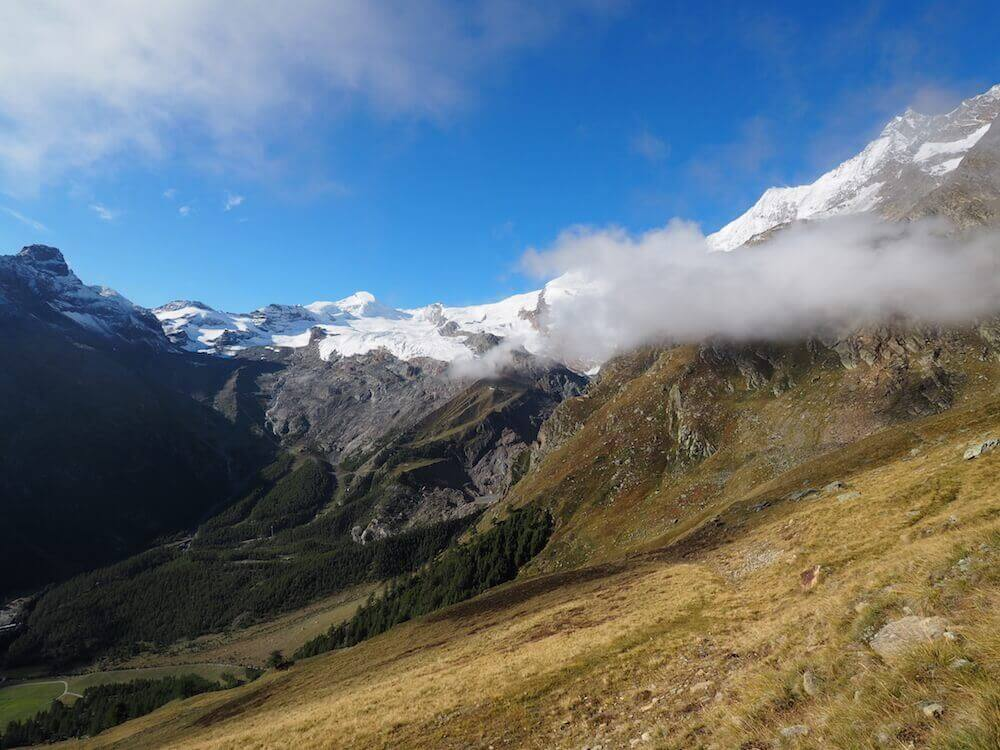 Saas Fee for the summer