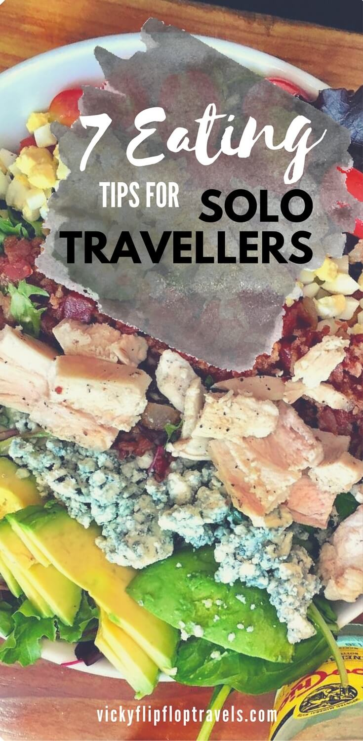 eating tips for solo travellers