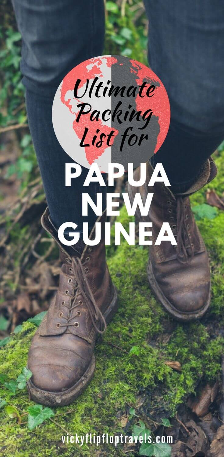 what to pack for papua new guinea