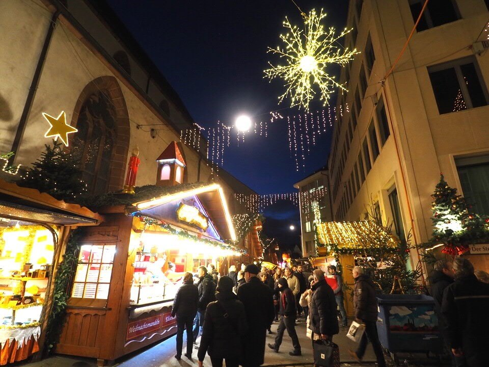 Basel Christmas Market what to expect
