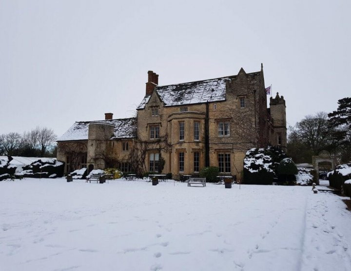 Our Snowy Night at the Manor Country House, Oxford