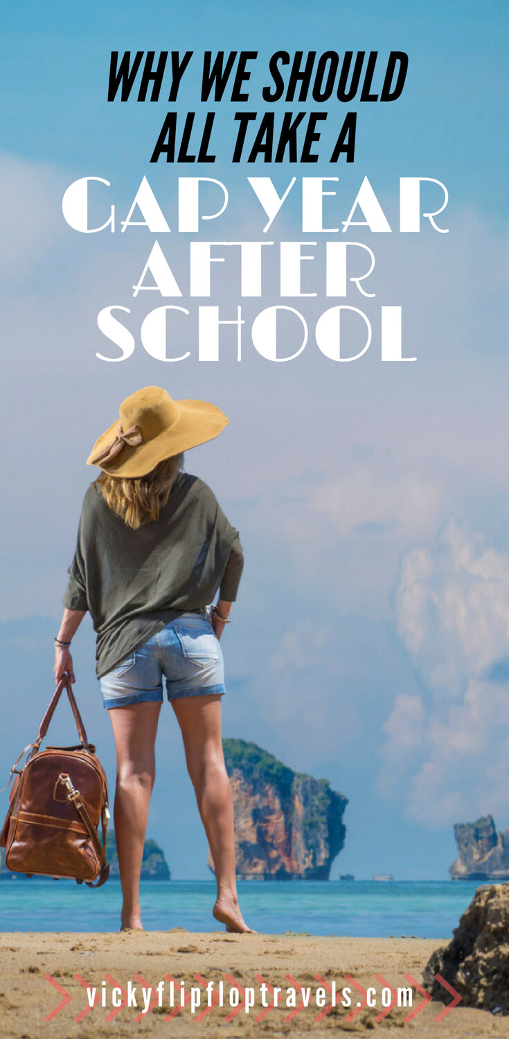 taking a gap year after school