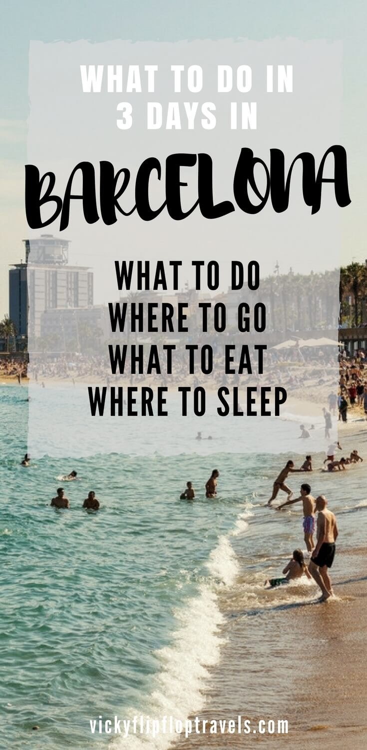 What to do in 3 days in Barcelona