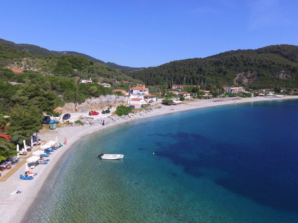 Drone pic from Skopelos Greece