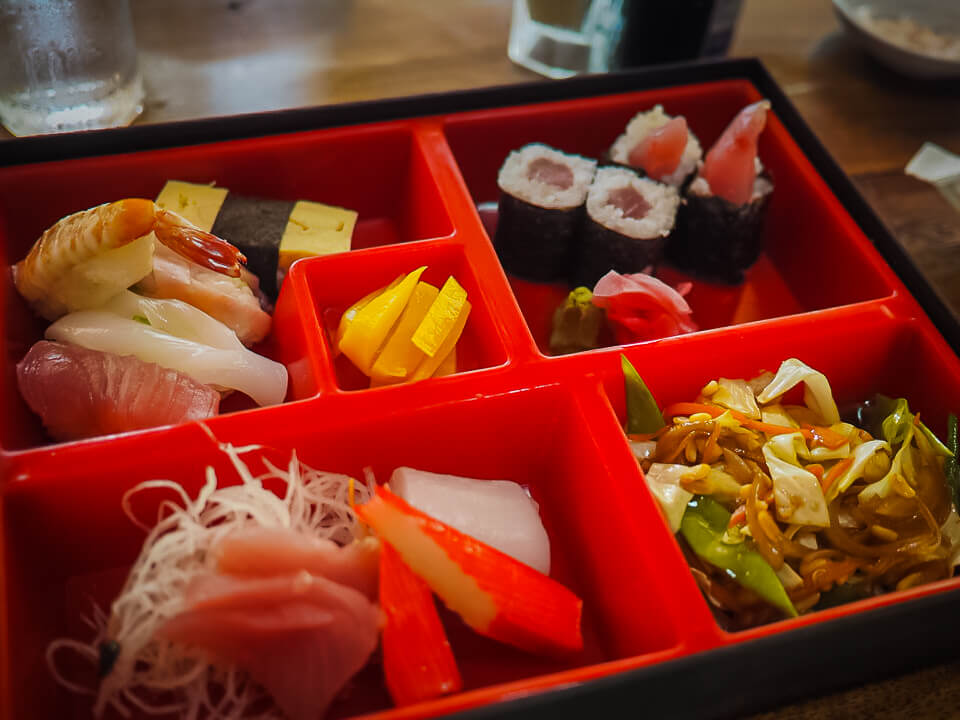 sushi in bohol