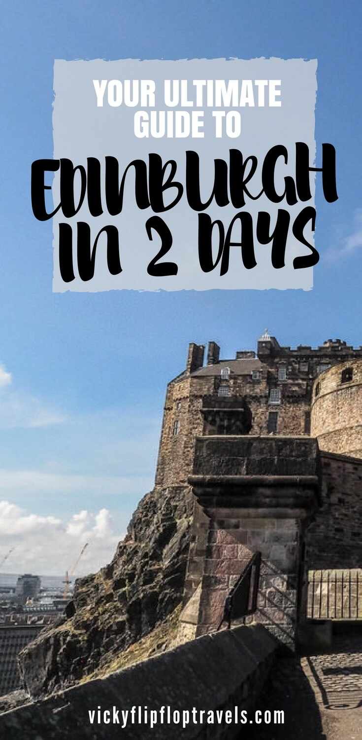 Itinerary for Edinburgh 2 days