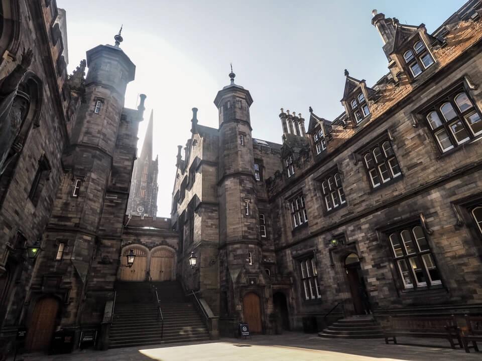 Two days in Edinburgh
