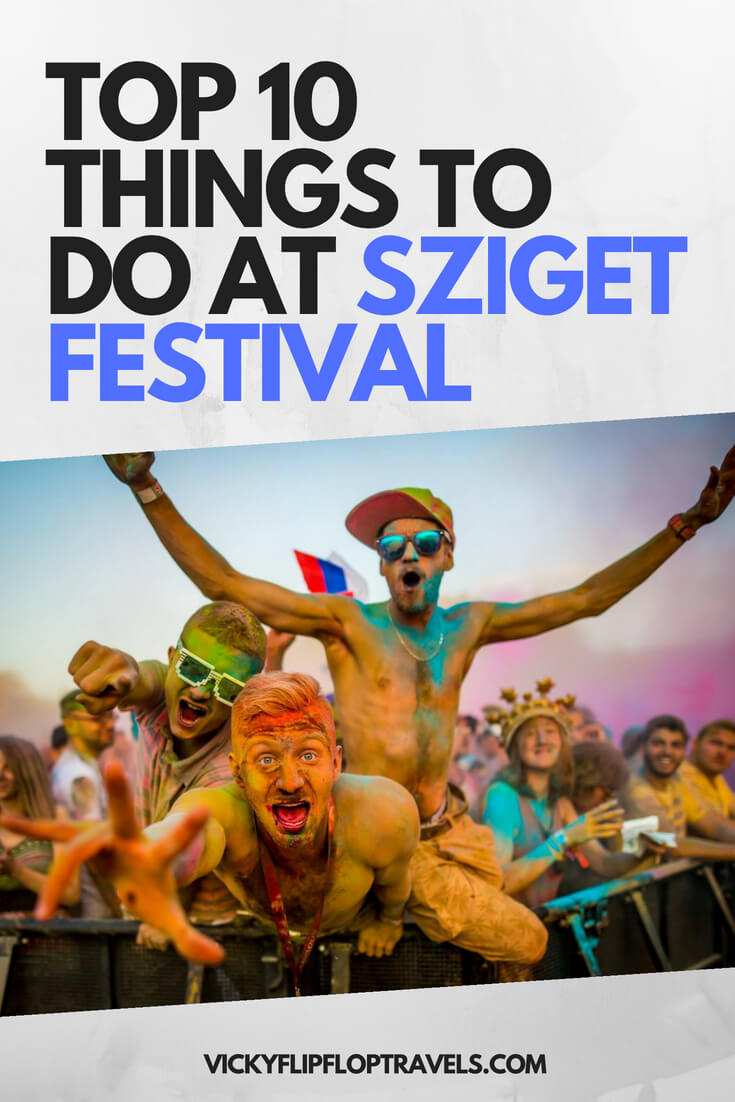 sziget festival things to do