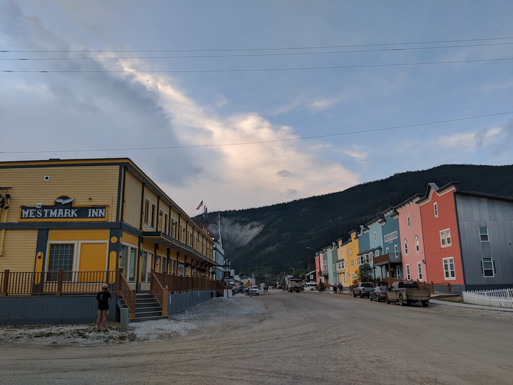 Dawson City in the Yukon