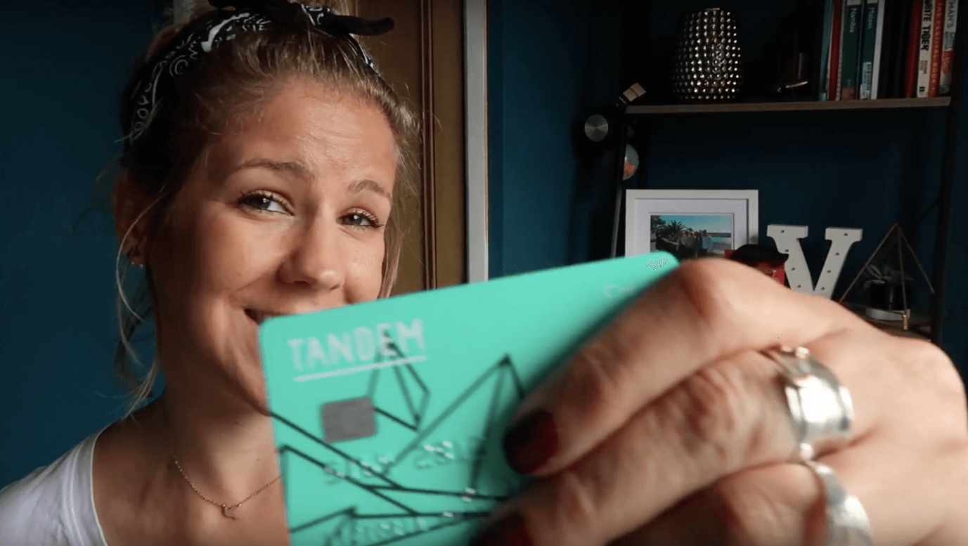 Travelling with a tandem credit card