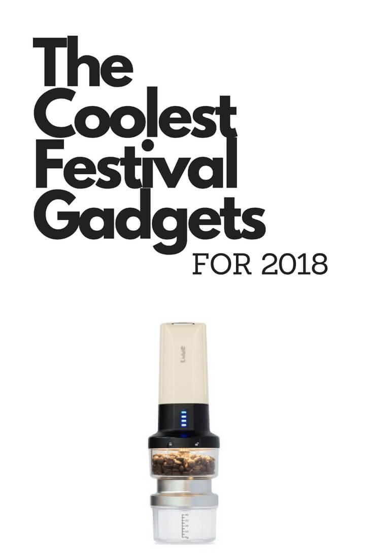 Cool festival tech