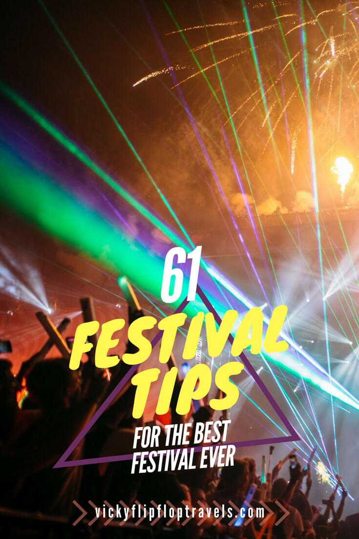 Festival Tips and Advice