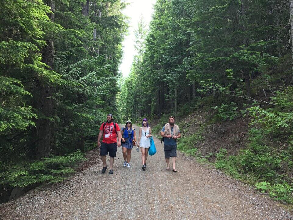 Hiking in Canada