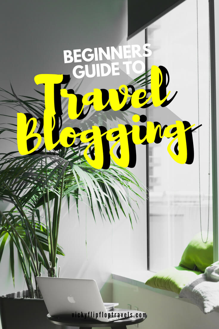 travel blogging for beginners