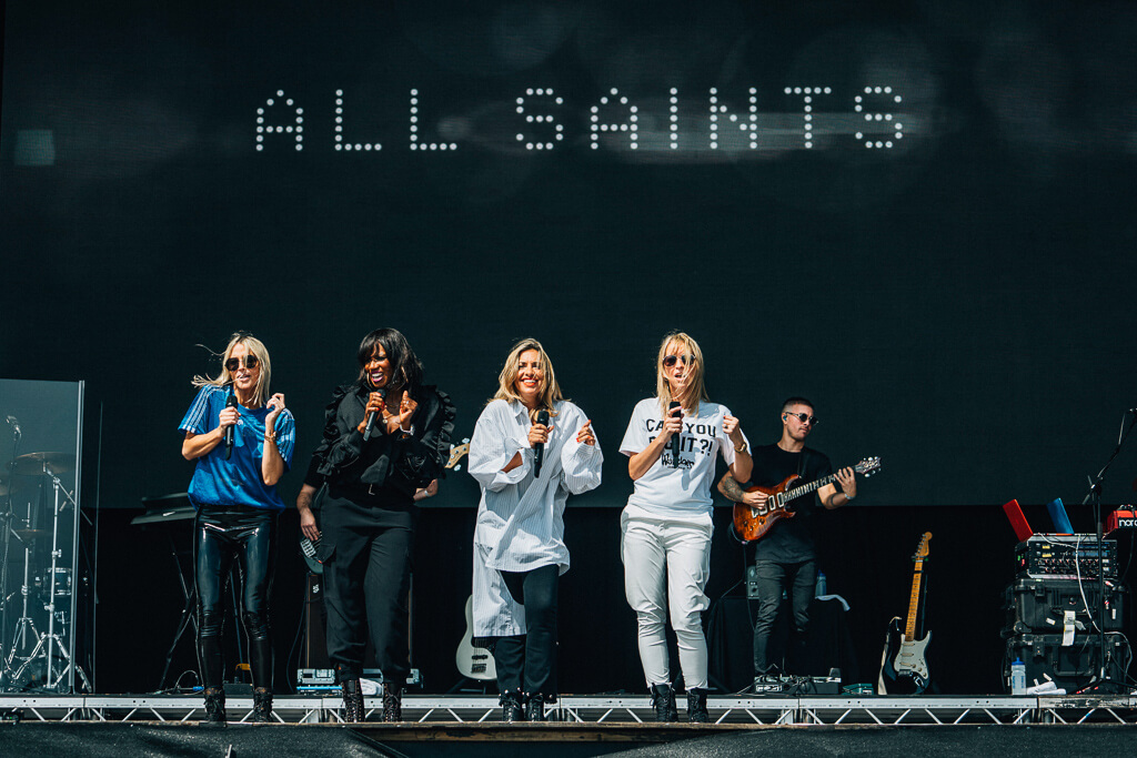 All Saints at Victorious Festival