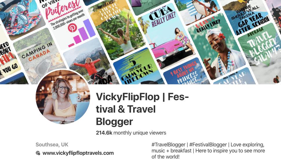 Pinterest VickyFlipFlop