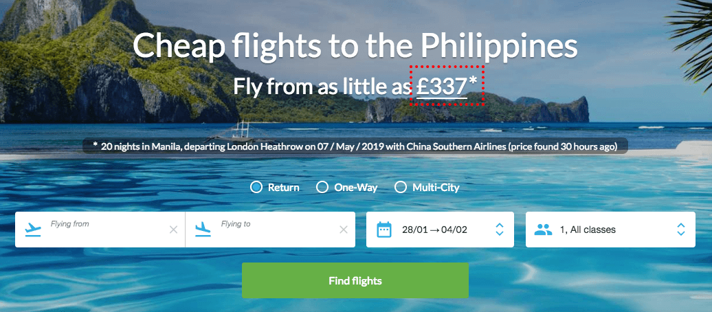 Philippines flights