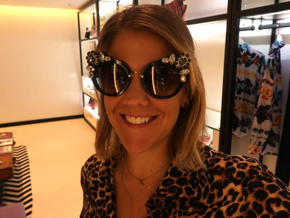 Sunglasses at Heathrow Airport