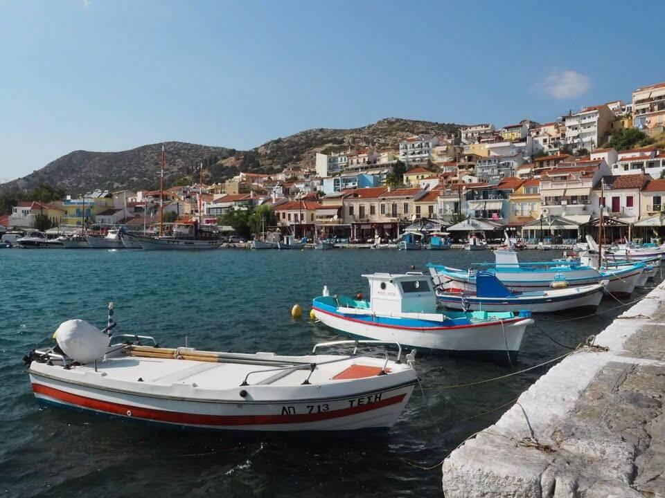Samos on holiday