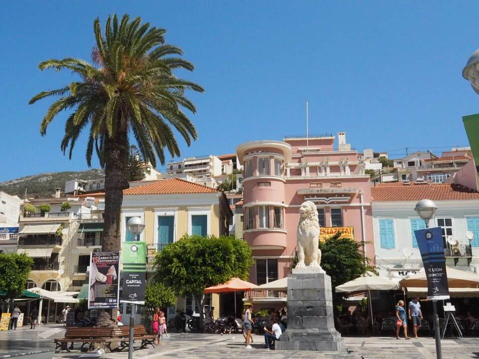 Samos Vathi Greece