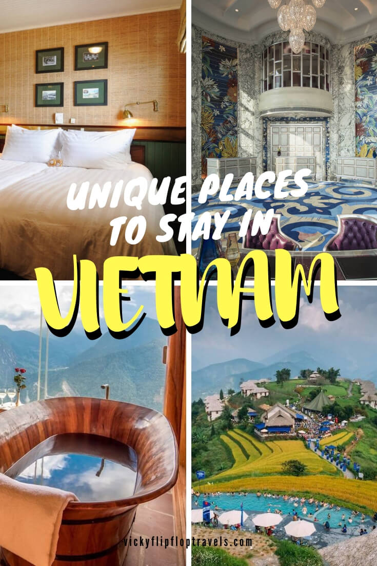 VIETNAM COOL PLACES TO STAY