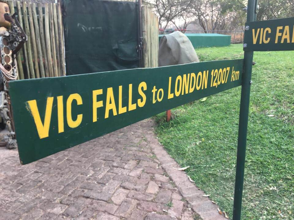 Getting to Victoria Falls