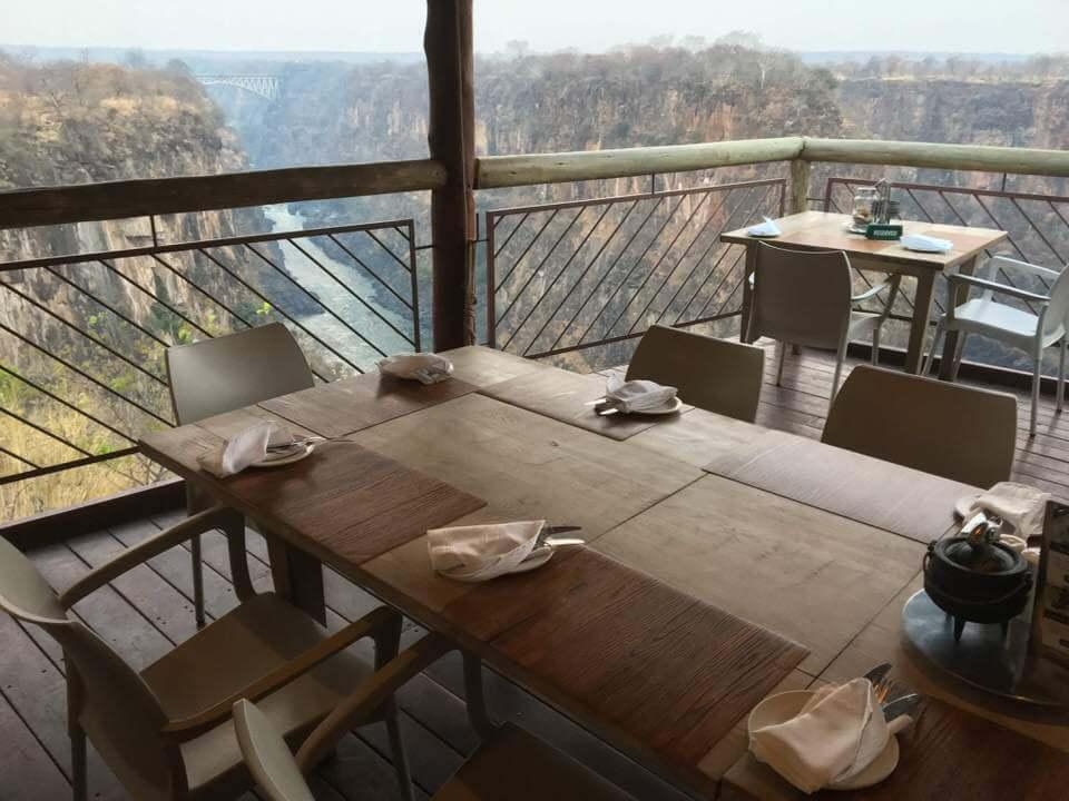 Best views Victoria Falls