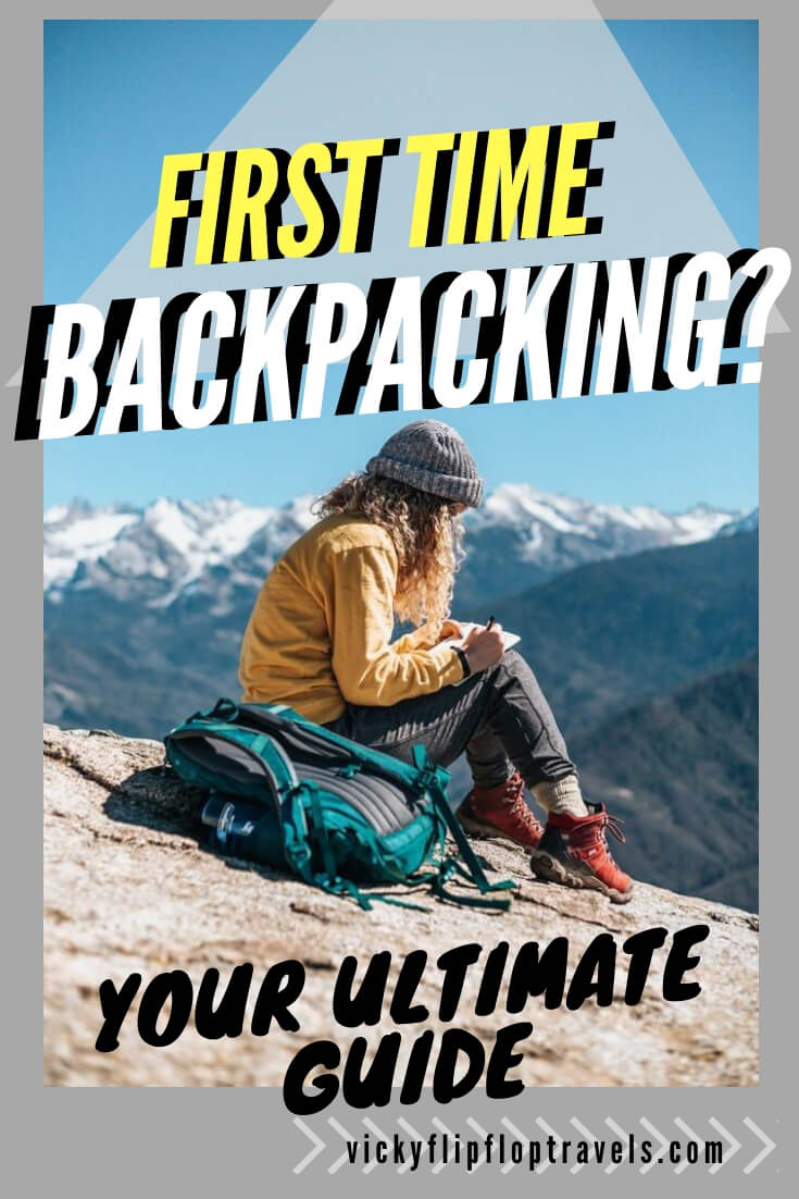 Backpacking for the first time