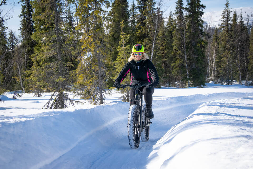 Fat bike tour in Yllas
