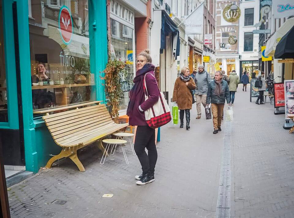 Shopping in the Hague